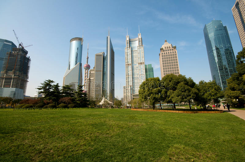Download Shanghai Century Avenue Park Stock Photo - Image of tourism, water: 12183948