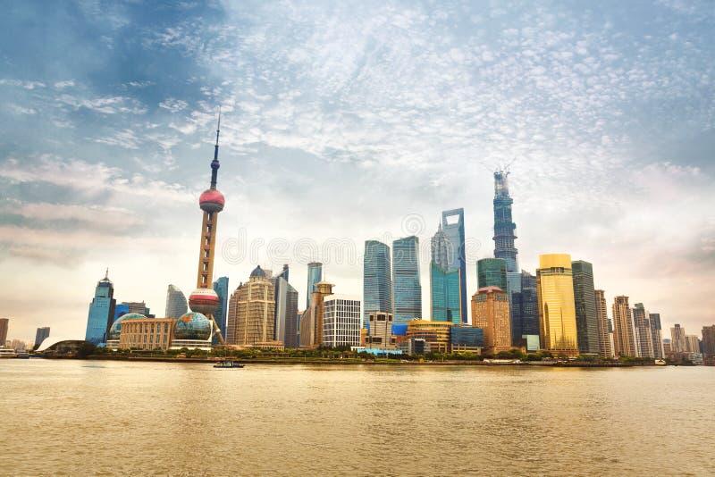 Shanghai, China stock foto's
