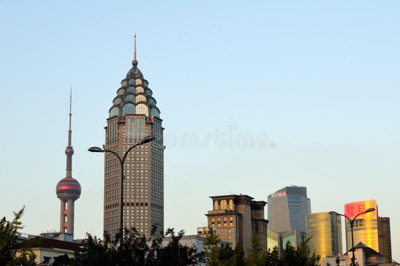 Shanghai China City View stock image