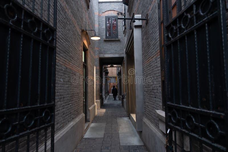 Shanghai China, January 02 2020, Tourist visit Xintiandi Wlaking street in Shanghai stock photos