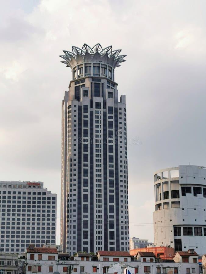 Shanghai, Chine, 09/07/2019 Westin Bund Centre Shanghai Hôtel cinq étoiles image libre de droits
