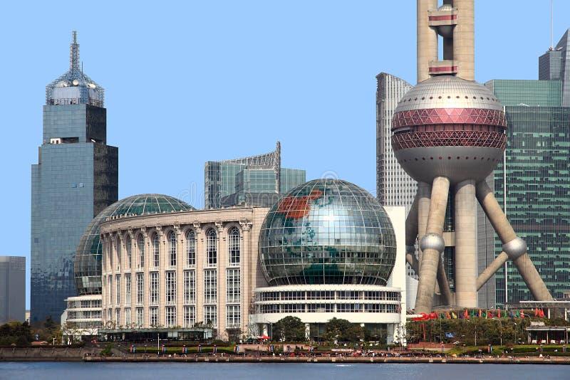 Shanghai de Dijk stock afbeelding