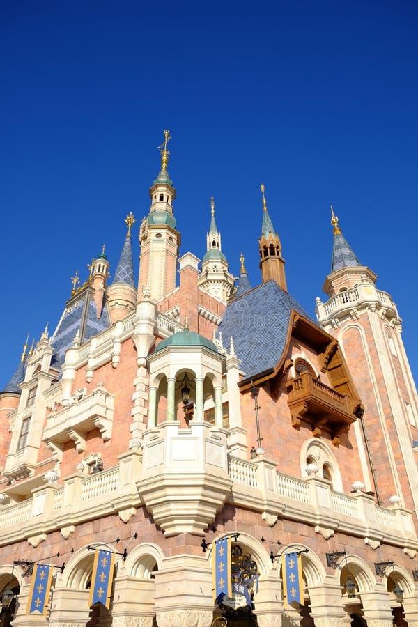 Shanghai Disney ziehen sich zurück lizenzfreies stockbild