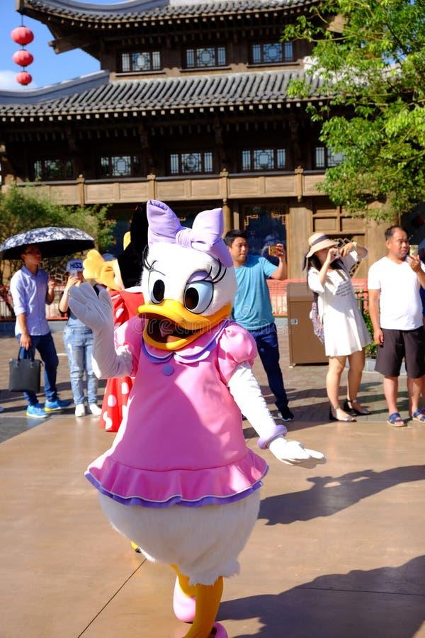Shanghai Disneyland royalty-vrije stock afbeeldingen