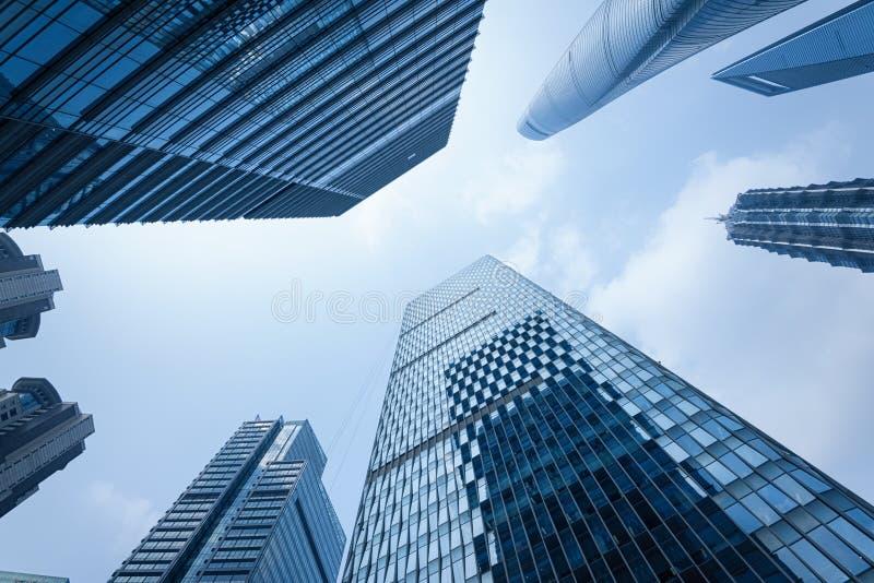 shanghai drapacze chmur zdjęcie stock