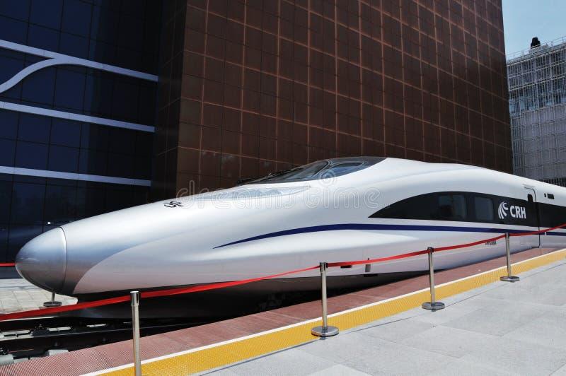 Shanghai Expo China van 2010 spoorwegPaviljoen royalty-vrije stock foto