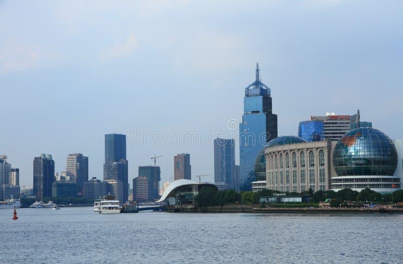 Shanghai gränsmärke arkivfoton