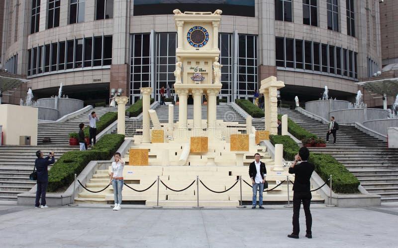 Shanghai, Grand Gateway 66 held royalty free stock photography