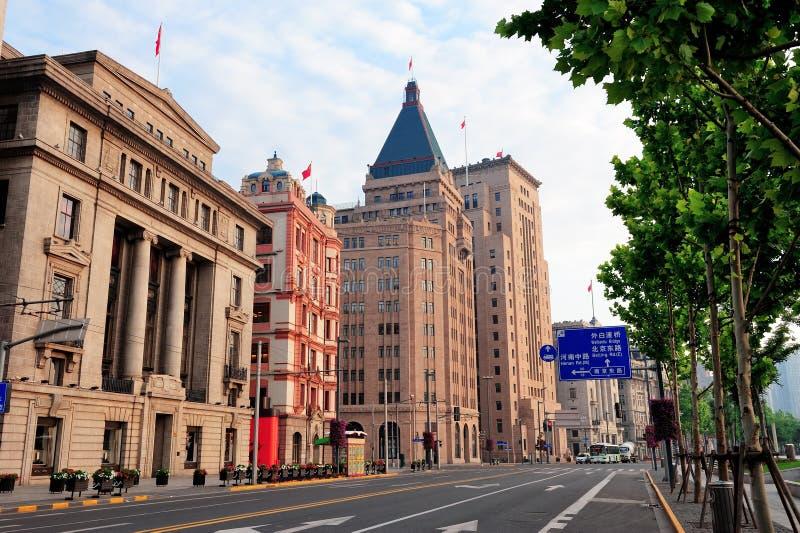Shanghai historic architecture royalty free stock photo