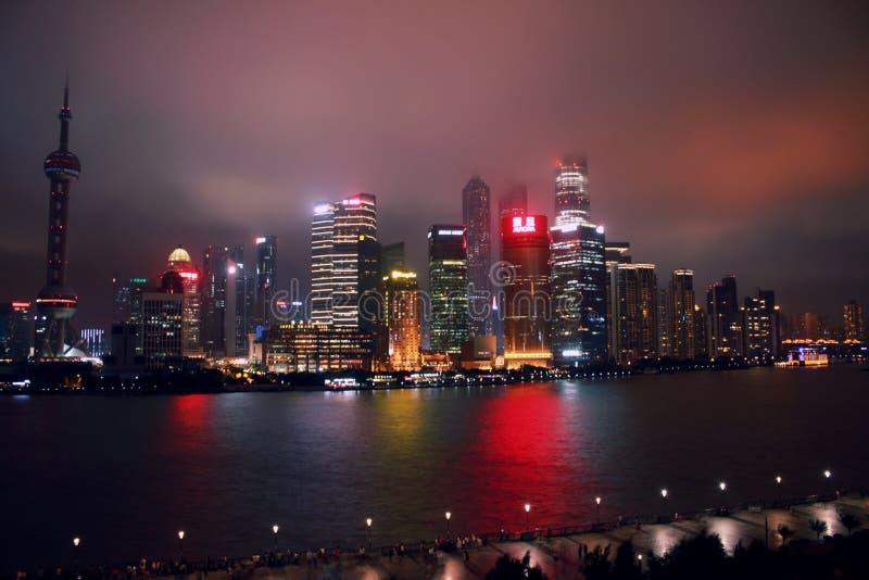 shanghai linia horyzontu zdjęcia stock