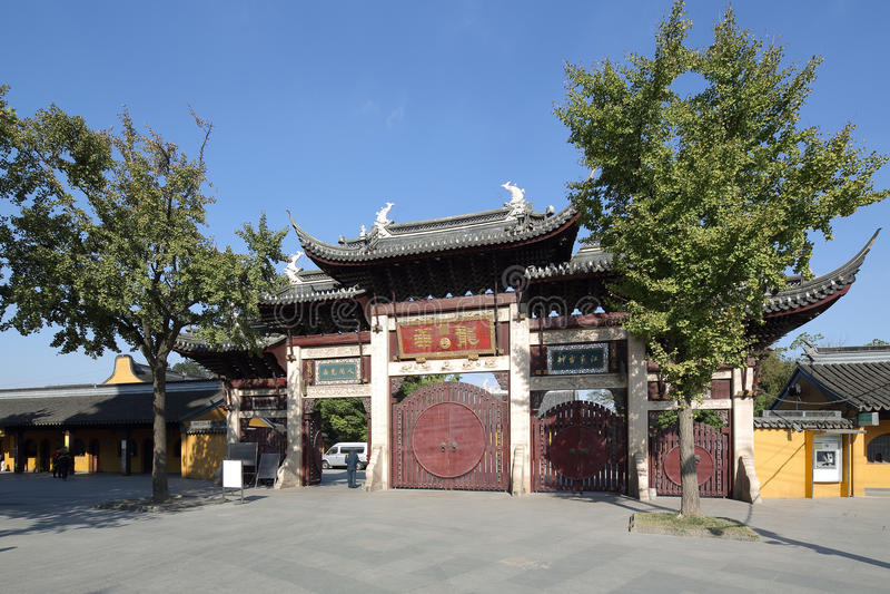 Shanghai Longhua Temple imagens de stock