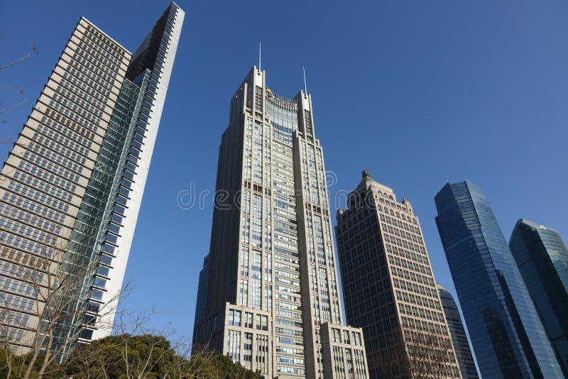 Shanghai Lujiazui royalty-vrije stock foto