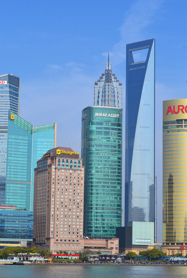 Download Shanghai Lujiazui editorial stock image. Image of la - 33448634