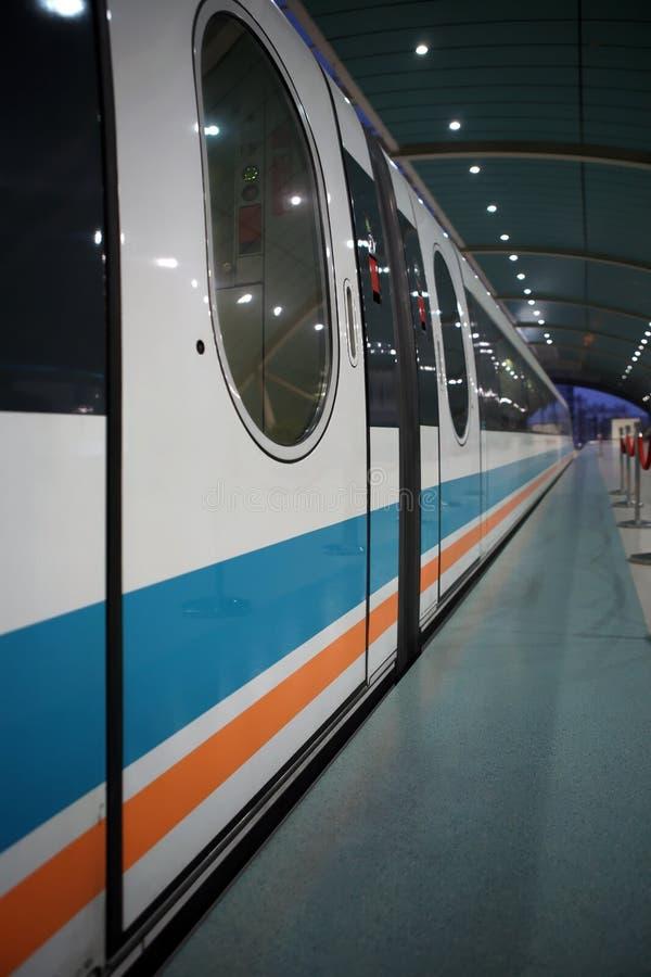Download Shanghai maglev train stock image. Image of high, station - 11193071