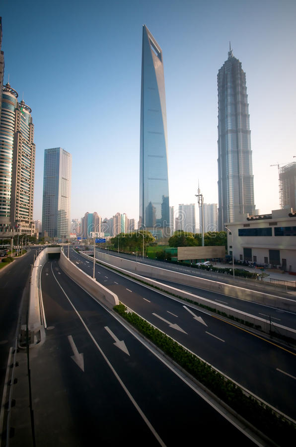 Shanghai Modern Infrastructure Royalty Free Stock Image