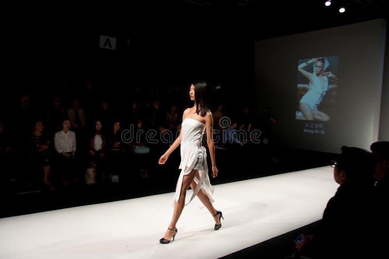 shanghai modevecka 2012 fotografering för bildbyråer