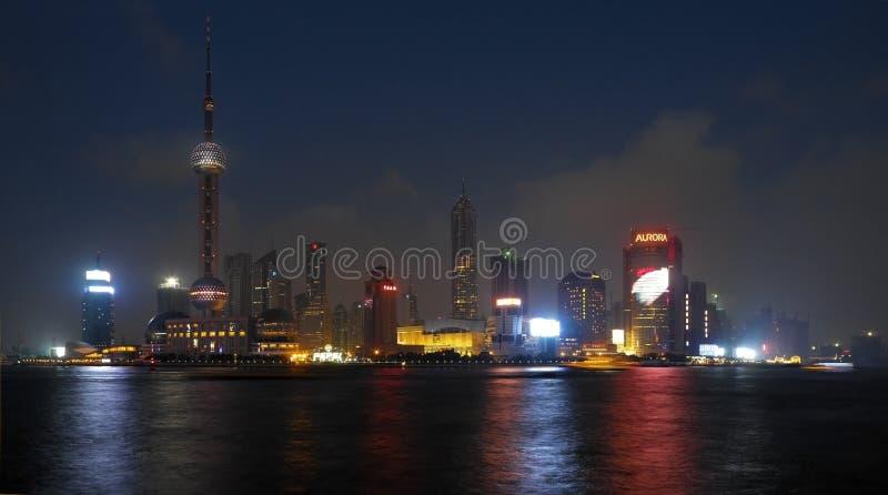 Shanghai - o Pudong - a China fotografia de stock