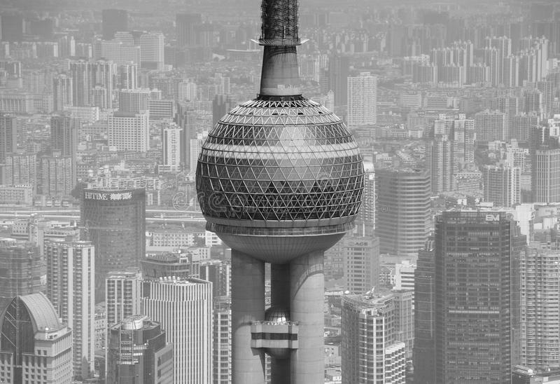 Shanghai Oriental Pearl stock photography