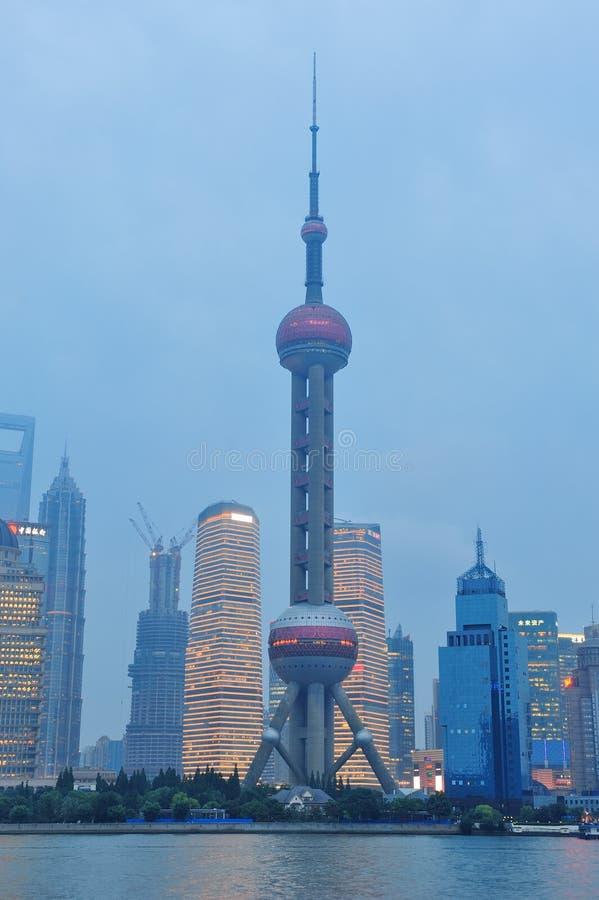 Shanghai Oriental Pearl royalty free stock photo