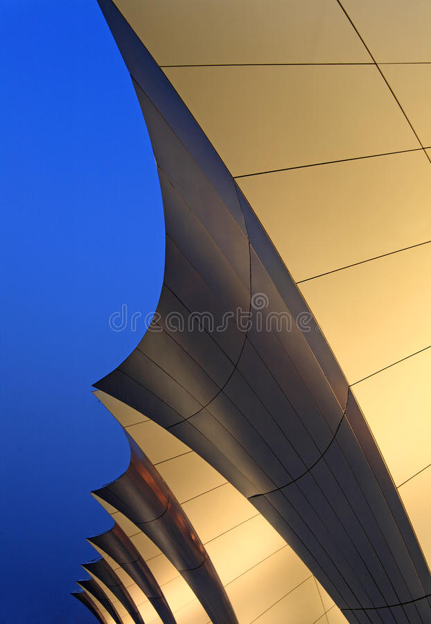 Shanghai oriental sports center stock image