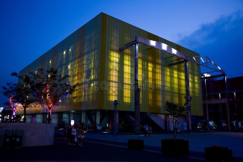 Shanghai-Pavilhão 2010 da expo para casos fotografia de stock royalty free