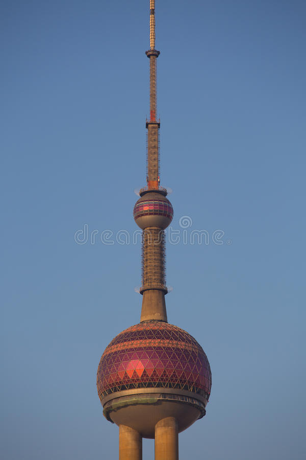 ShangHai Pearl Tower stock images
