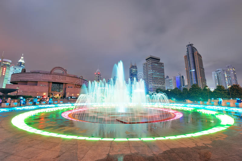 Download Shanghai People's Square stock image. Image of architecture - 27042229