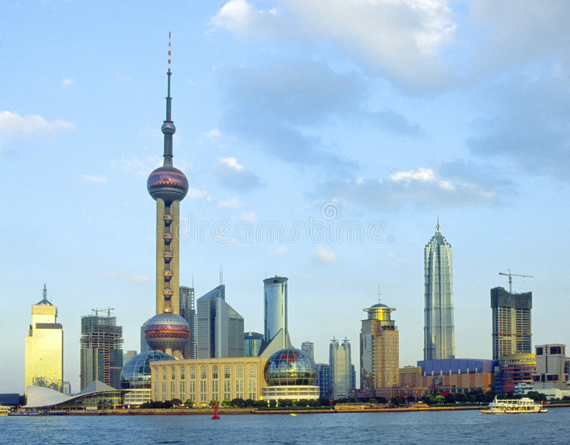 Download Shanghai Pudong stock photo. Image of earth, district - 3729586