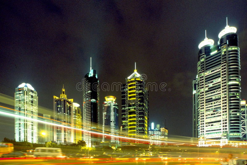 Shanghai Pudong stock images