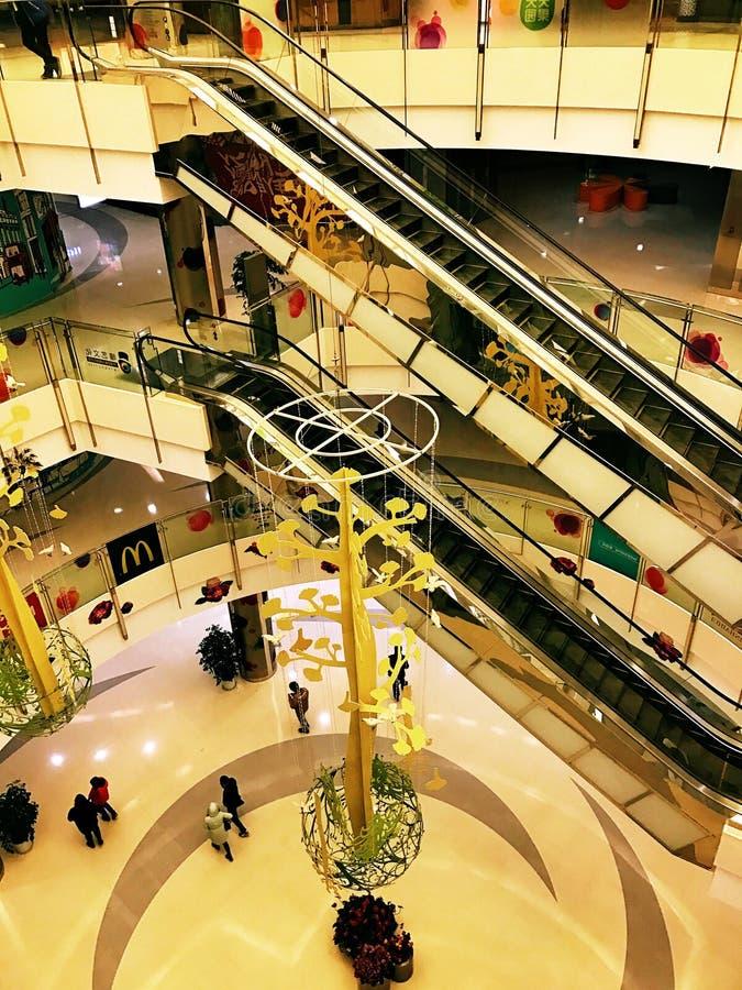 Free Shanghai Shopping Mall Royalty Free Stock Photos - 85935668