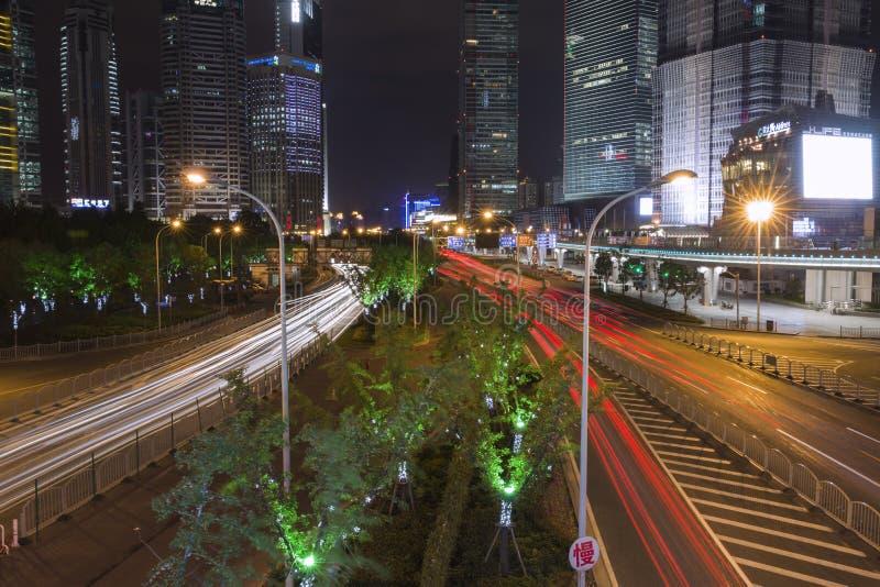 SHANGHAI SIGHTSEEING&NIGHT stock foto