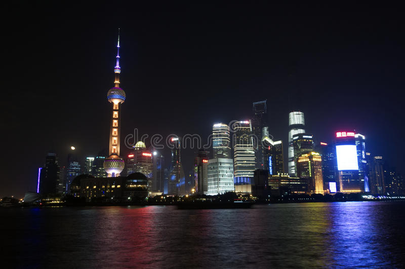 Shanghai Skyline royalty free stock images