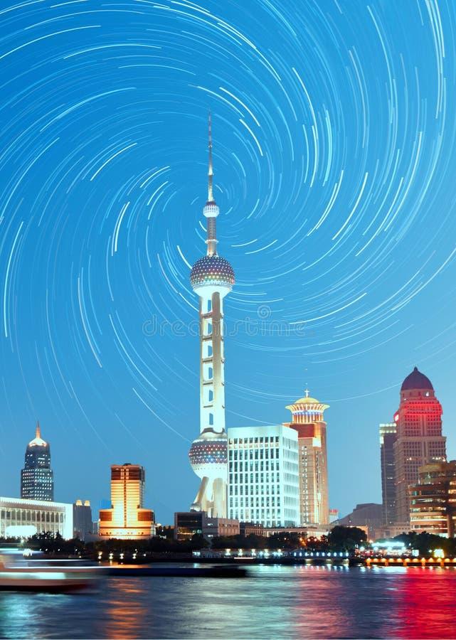 Free Shanghai Skyline Night, China Stock Photo - 90412630