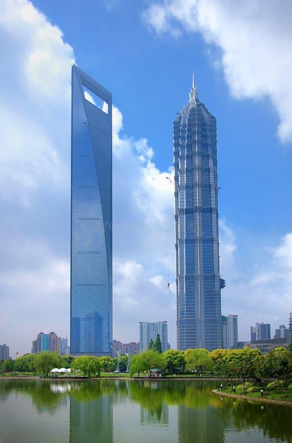 Shanghai ,Skyscrapers stock photos