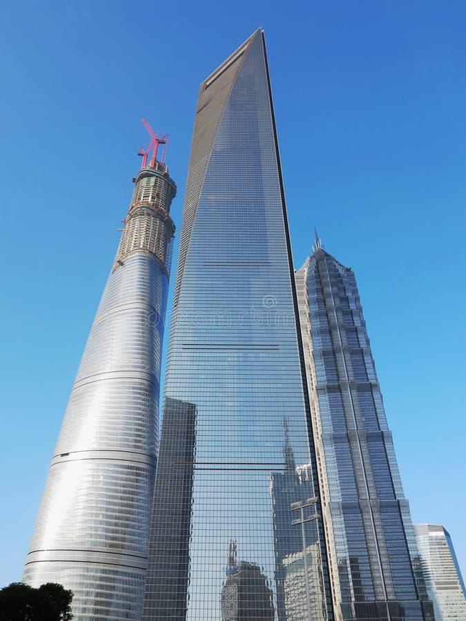 Shanghai ,Skyscrapers stock photography