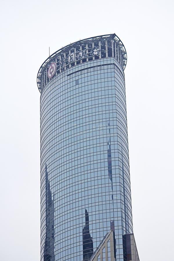 Shanghai stadsskönhet, porslin arkivfoton