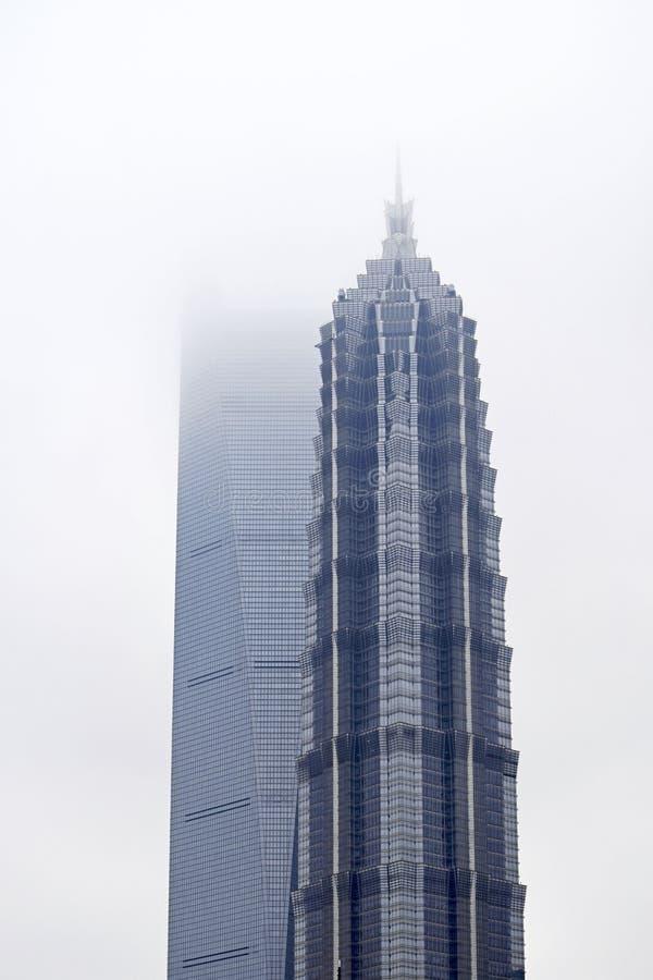 Shanghai stadsskönhet, porslin arkivbilder