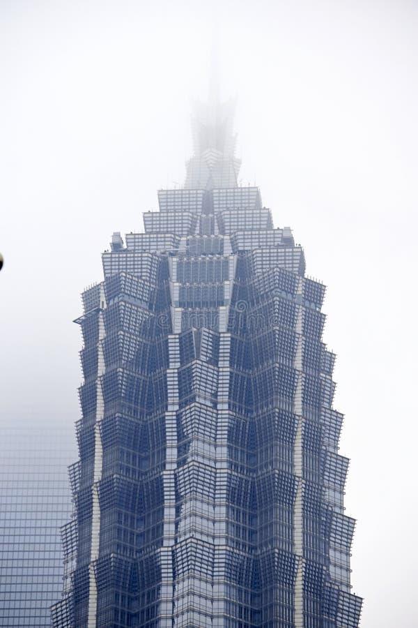 Shanghai-Stadtschönheit, Porzellan stockfotos