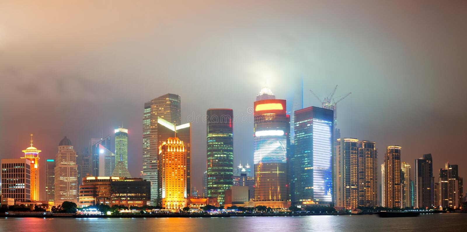 Download Shanghai Urban Architecture Stock Photo - Image: 27042510