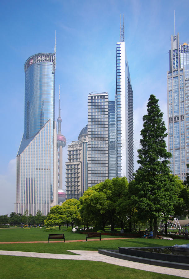 Download Shanghai Urban, Skyline Editorial Stock Image - Image: 26123219