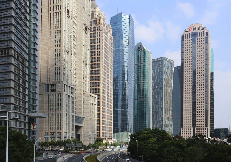 Download Shanghai Urban, Skyline editorial stock photo. Image of street - 35112328