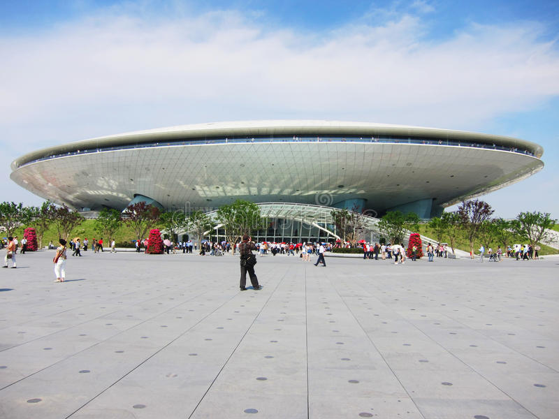 Shanghai-Weltausstellung stockbild