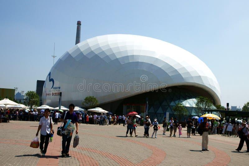 Shanghai-Weltausstellung 2010 stockfotos