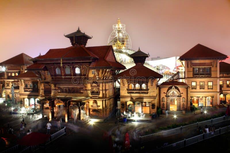 Shanghai World Expo Nepal Pavilion stock photo
