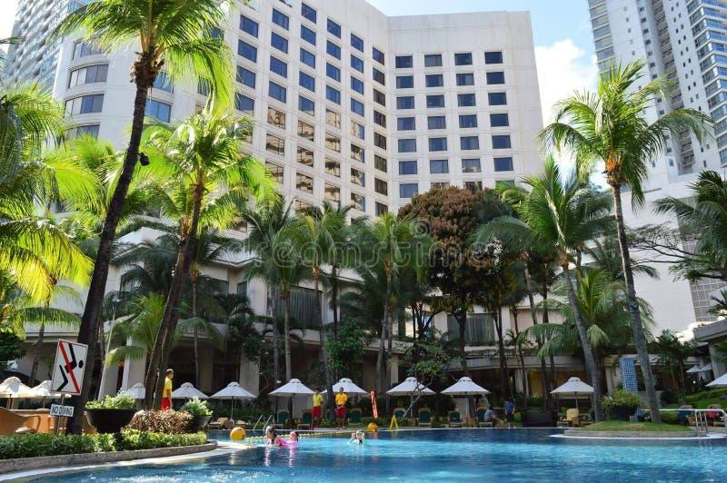 Shangri La旅馆马尼拉 免版税库存照片