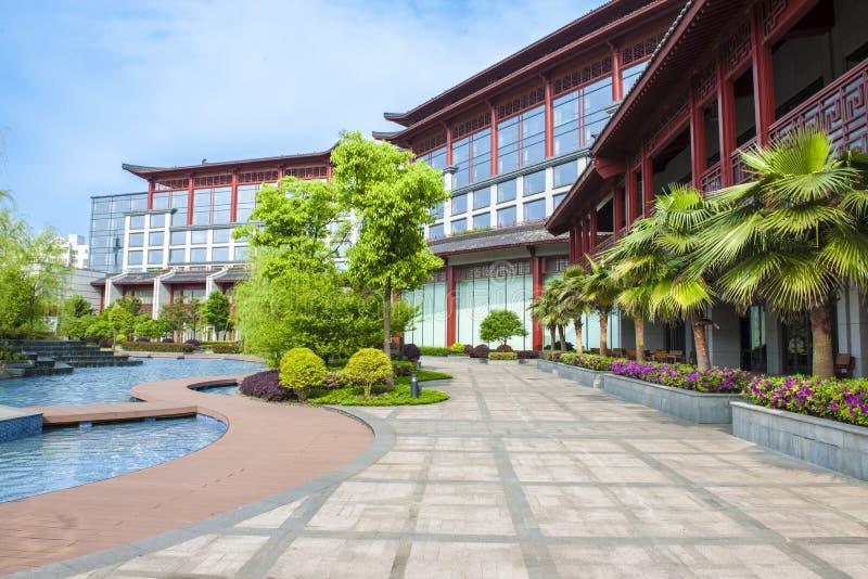 Shangri-La Hotel, Guilin, China. Shangri-La Hotel in Guilin, China royalty free stock photos