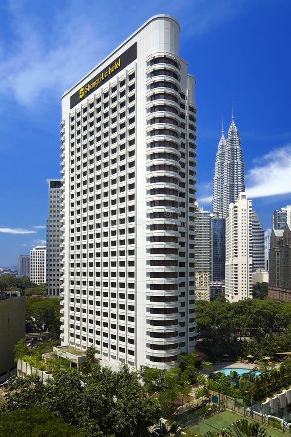 Shangri-La Hotel Kuala Lumpur lizenzfreie stockbilder