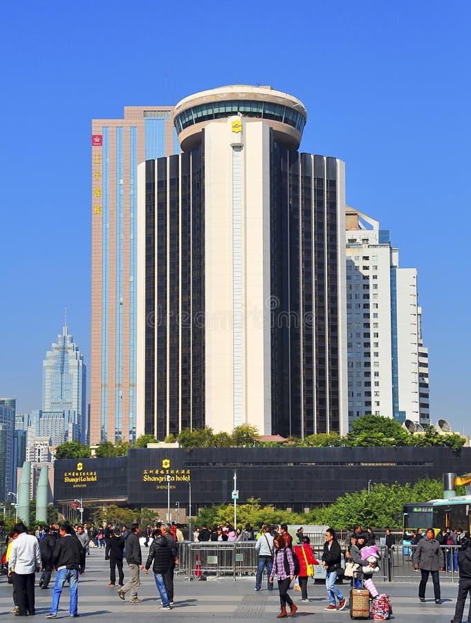 Shangri-La Hotel Shenzhen, Porzellan lizenzfreies stockbild