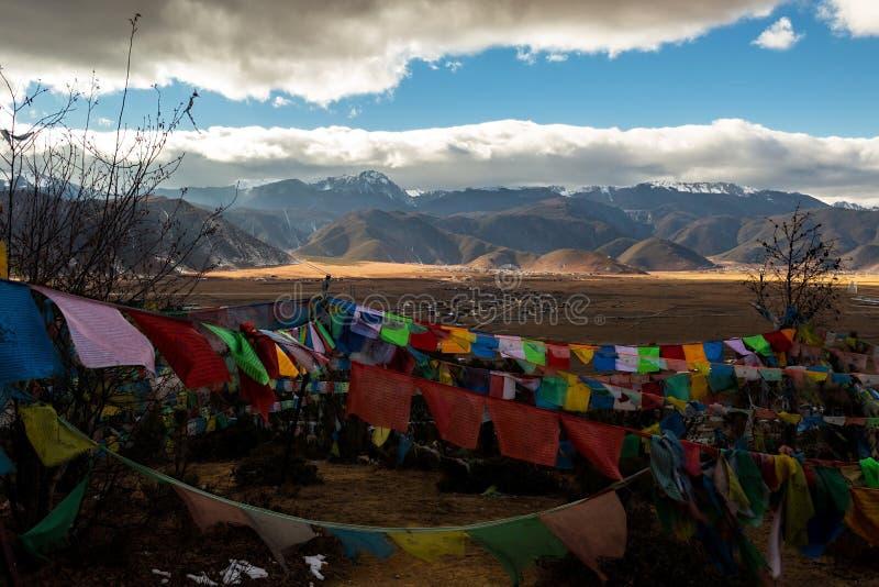 Shangri-la old town. In Yunnan, China royalty free stock image