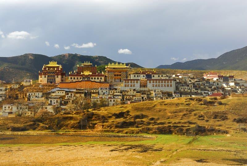 Shangri-La - Songzanlinsi foto de archivo libre de regalías